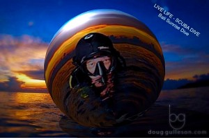 Doug Gulleson scuba diving