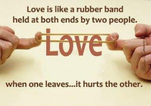 Love is a very special bond between two people!
