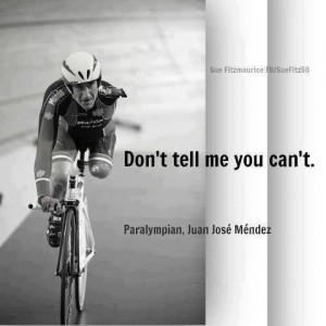 Awesome, live life to the fullest! Juan Jose Mendez, cycling, paralympic cyclists