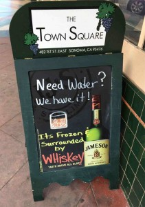 I need water every day!